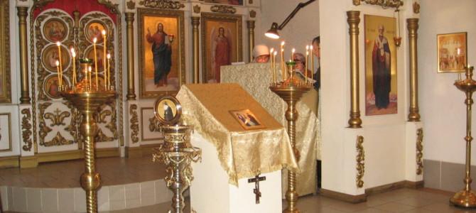 В храм передана частица мощей прп. Гавриила Седмиезерного.