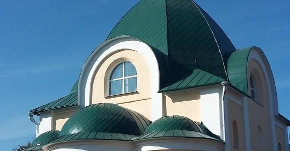 Фасадные работы практически завершены.